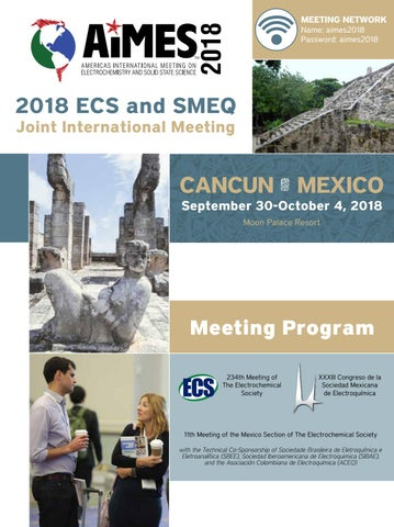 Aimes 2018 2018 Ecs And Smeq Joint International Meeting By