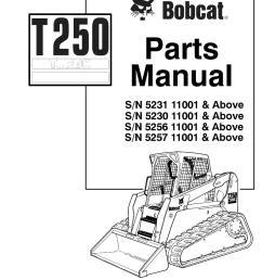 bobcat t250 compact track loader parts catalogue manual sn 5256 bobcat t250 parts diagram [ 1058 x 1497 Pixel ]