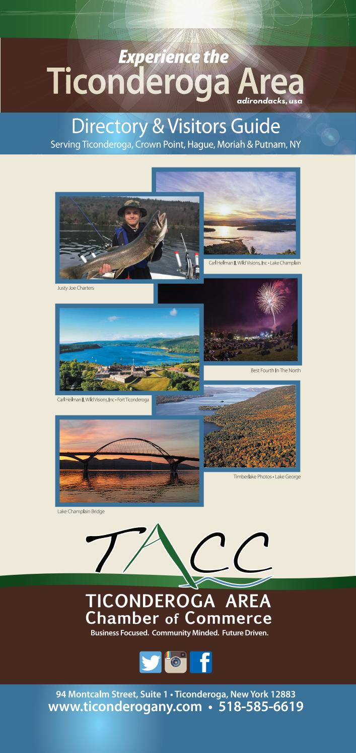hight resolution of ticonderoga area directory visitors guide by sun community news and printing issuu