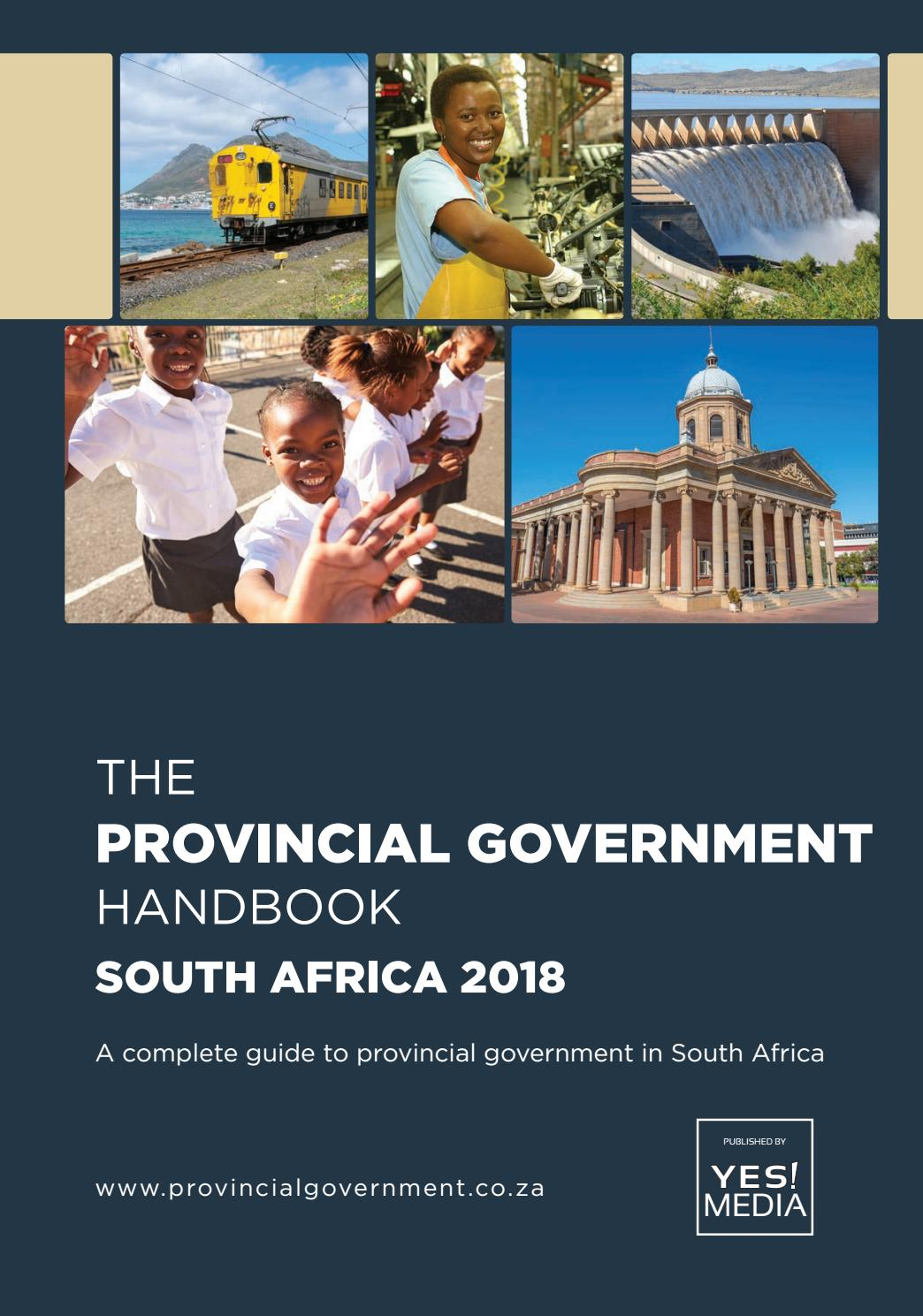 Provincial Government Handbook  South Africa 2018 by Yes Media  Issuu
