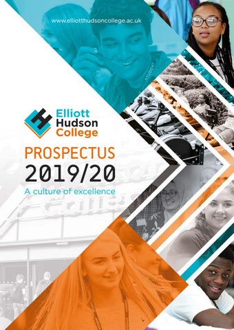 Elliott Hudson College Prospectus 201920 by The GORSE Academies Trust  Issuu