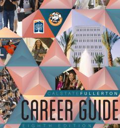 CSU Fullerton Career Guide by Career Center - issuu [ 1496 x 1156 Pixel ]