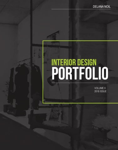 Interior Design Portfolio By Delana Noil Issuu