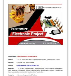 top quality of customize electronic project at discounted price [ 1156 x 1496 Pixel ]