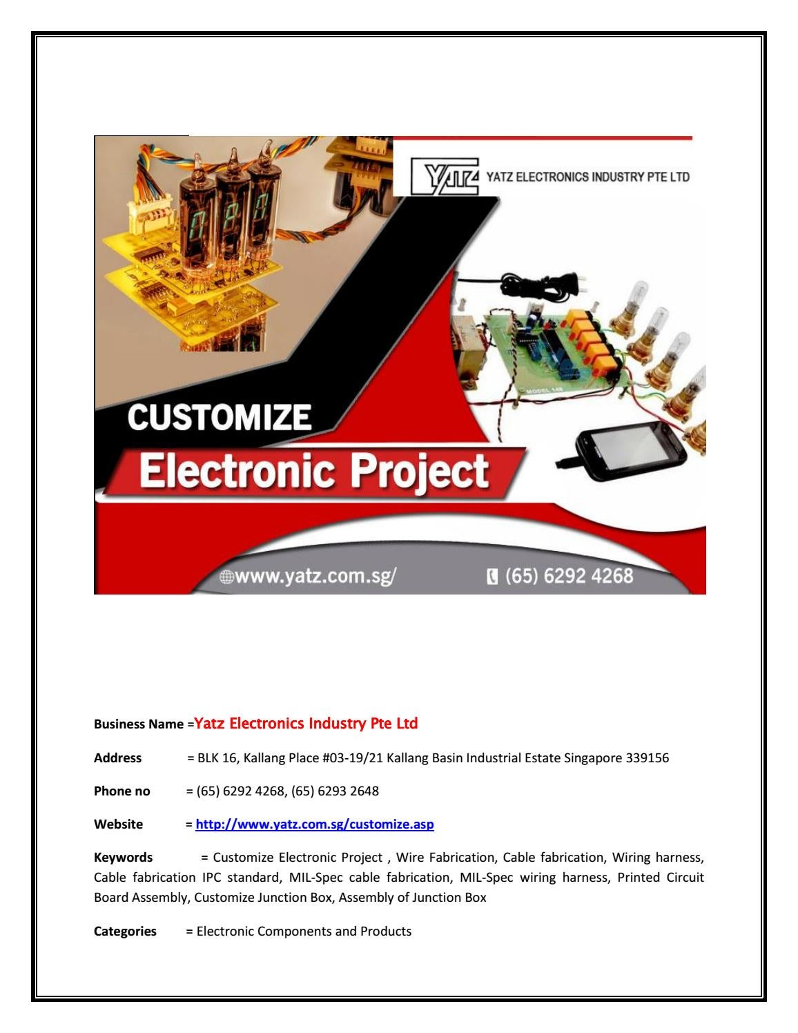 hight resolution of top quality of customize electronic project at discounted price