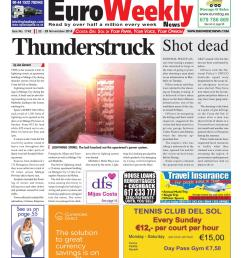 euro weekly news costa del sol 22 28 november 2018 issue 1742 by euro weekly news media s a issuu [ 1162 x 1489 Pixel ]