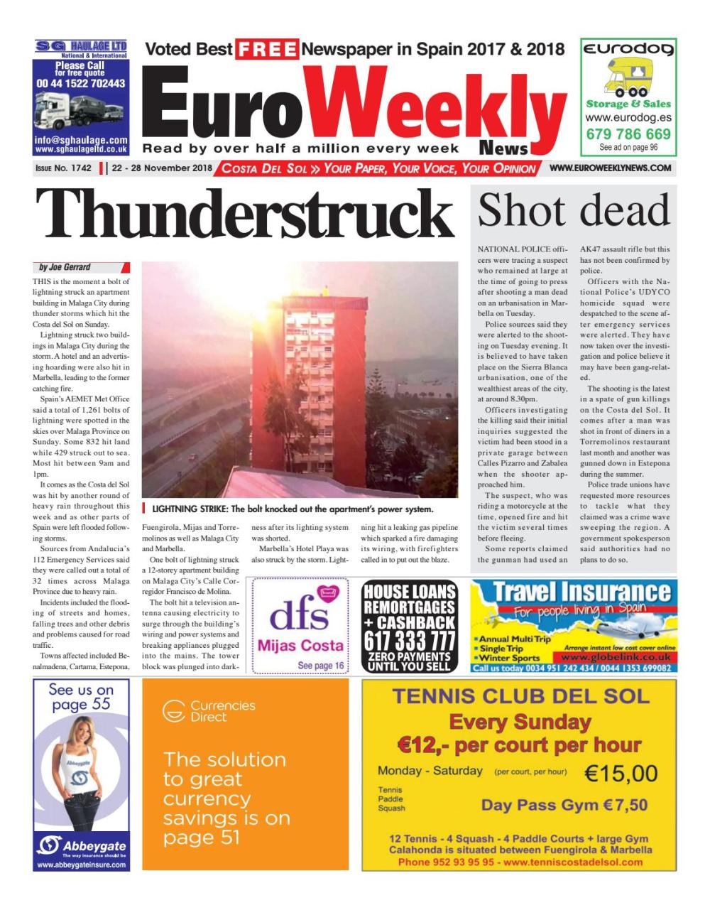 medium resolution of euro weekly news costa del sol 22 28 november 2018 issue 1742 by euro weekly news media s a issuu