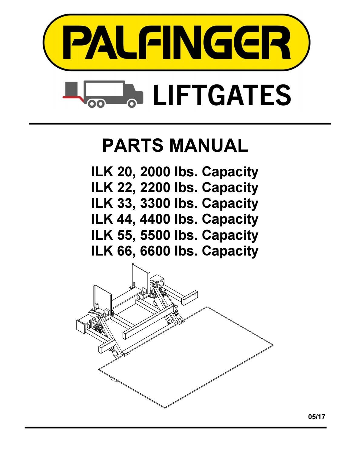 hight resolution of palfinger ilk 20 22 33 44 55 66 liftgate parts manual by the liftgate parts co issuu