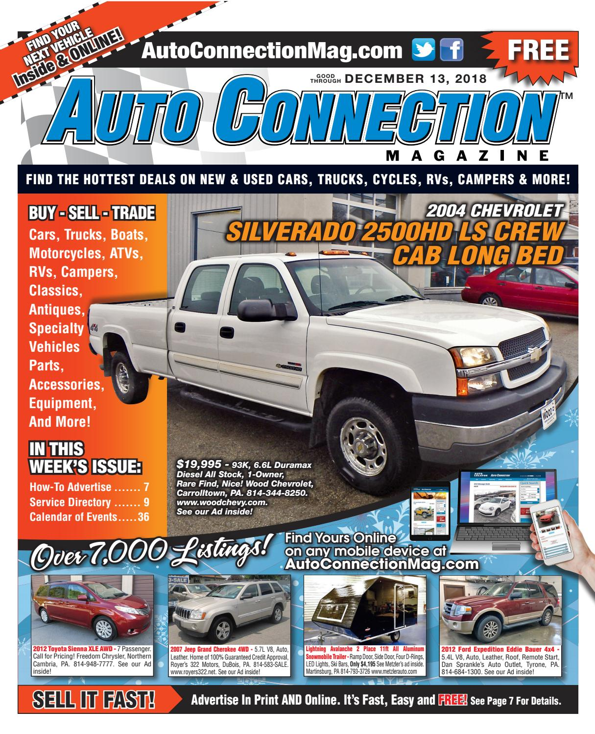 12 13 18 Auto Connection Magazine By Auto Locator And Auto Connection Issuu