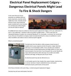 electrical panel replacement calgary dangerous electrical panels can cause fire shock risks [ 1156 x 1496 Pixel ]