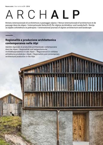 Rivista Archalp 01 2018 Nuova Serie By Bononia University