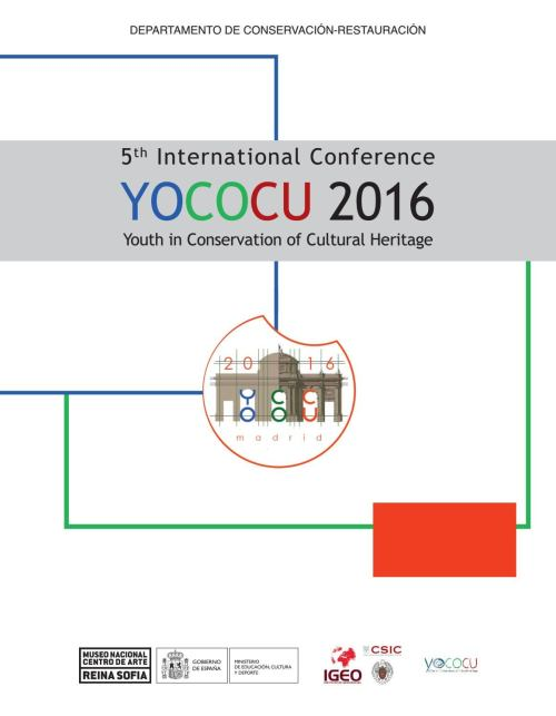 small resolution of 5th international conference yococu 2016 youth in conservation of cultural heritage by museo reina sof a issuu