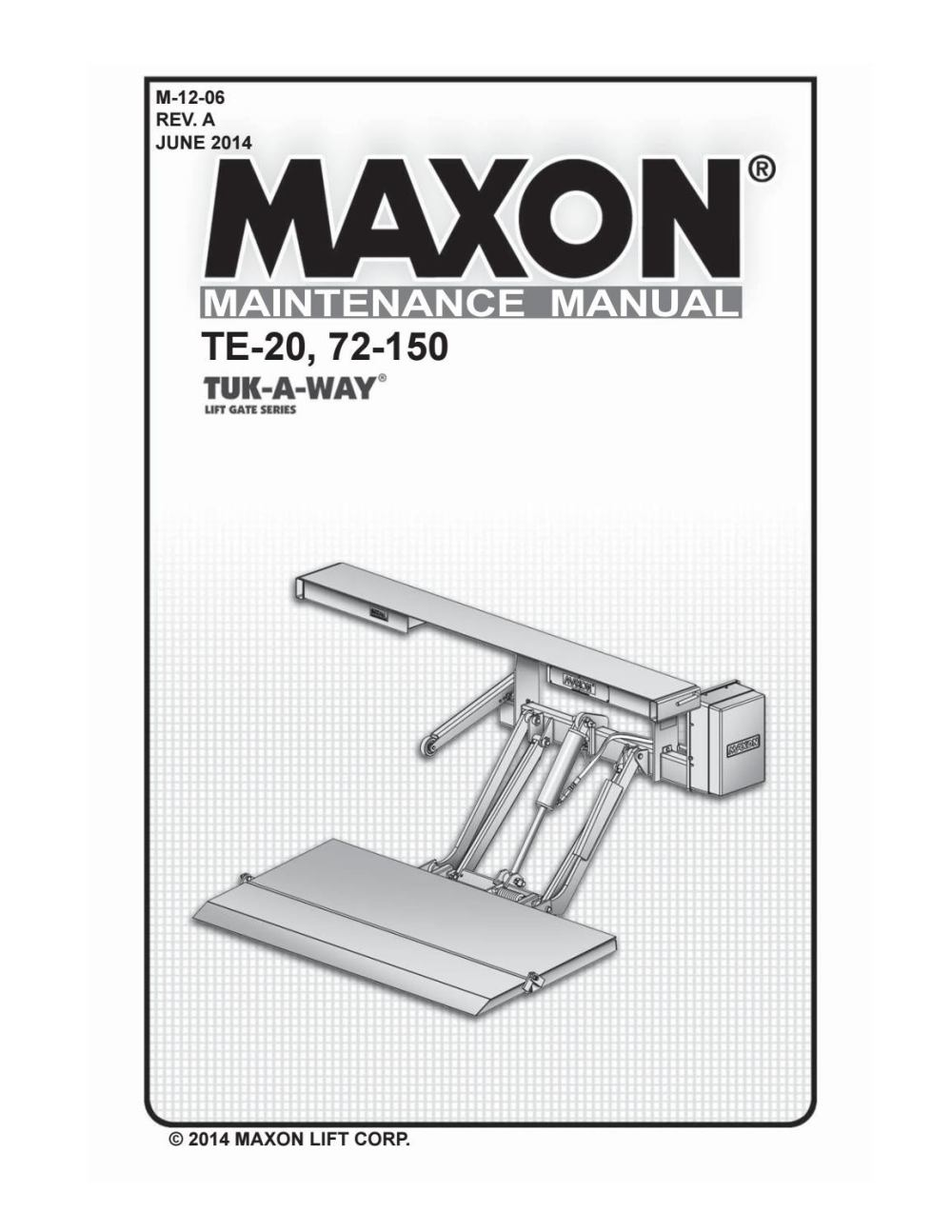 medium resolution of maxon 72 150 te 20 liftgate parts manual by the liftgate parts co issuu