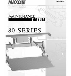maxon 80 series tuckaway liftgate parts manual by the liftgate parts co issuu [ 1156 x 1496 Pixel ]