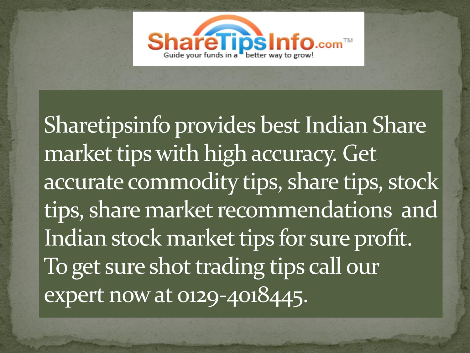 Share Trading Recommendations