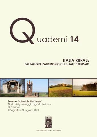 Quaderno 14 ITALIA RURALE by Biblioteca Archivio Emilio Sereni  Issuu