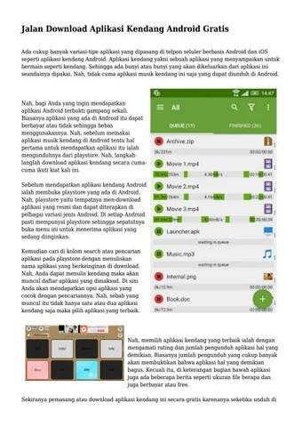 Download Aplikasi Kendang : download, aplikasi, kendang, Jalan, Download, Aplikasi, Kendang, Android, Gratis, Instateknopop, Issuu