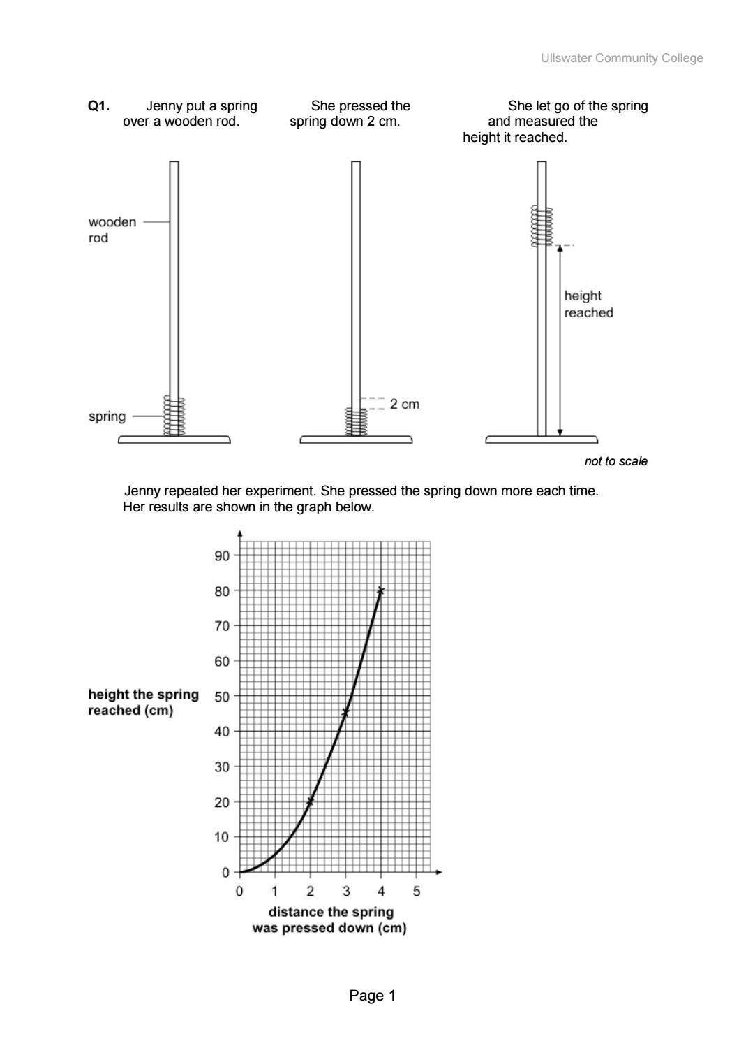 hight resolution of diagram of a spring scale