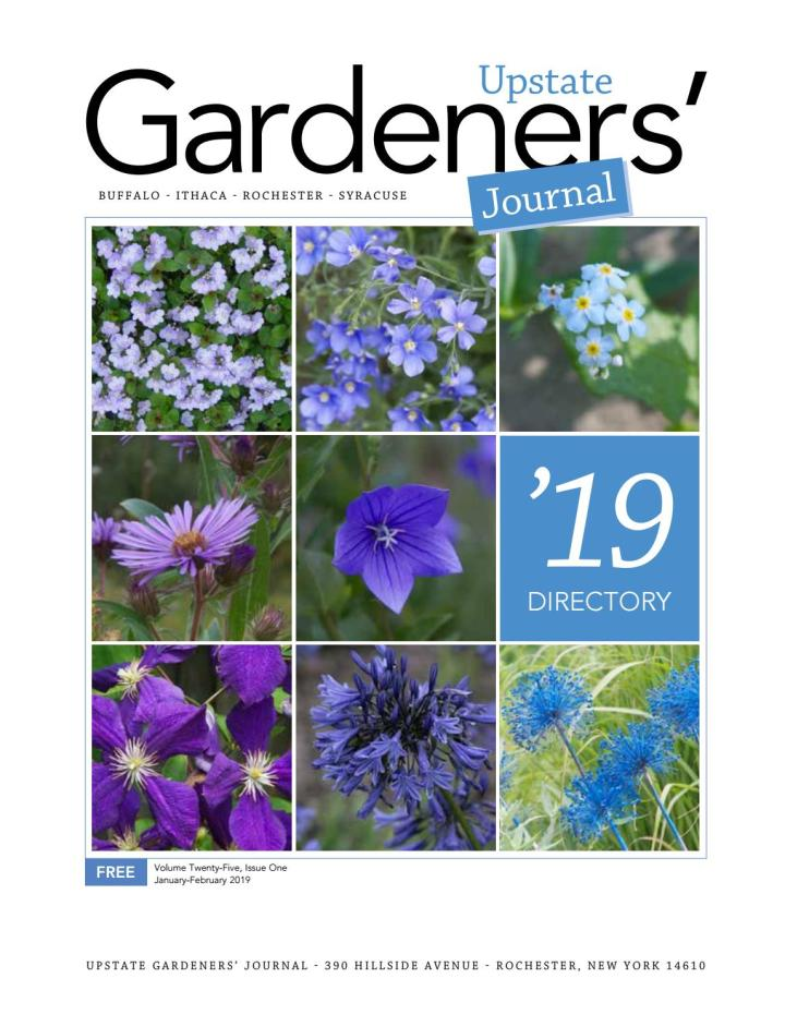 upstate gardeners' journal 2019 directory by upstate