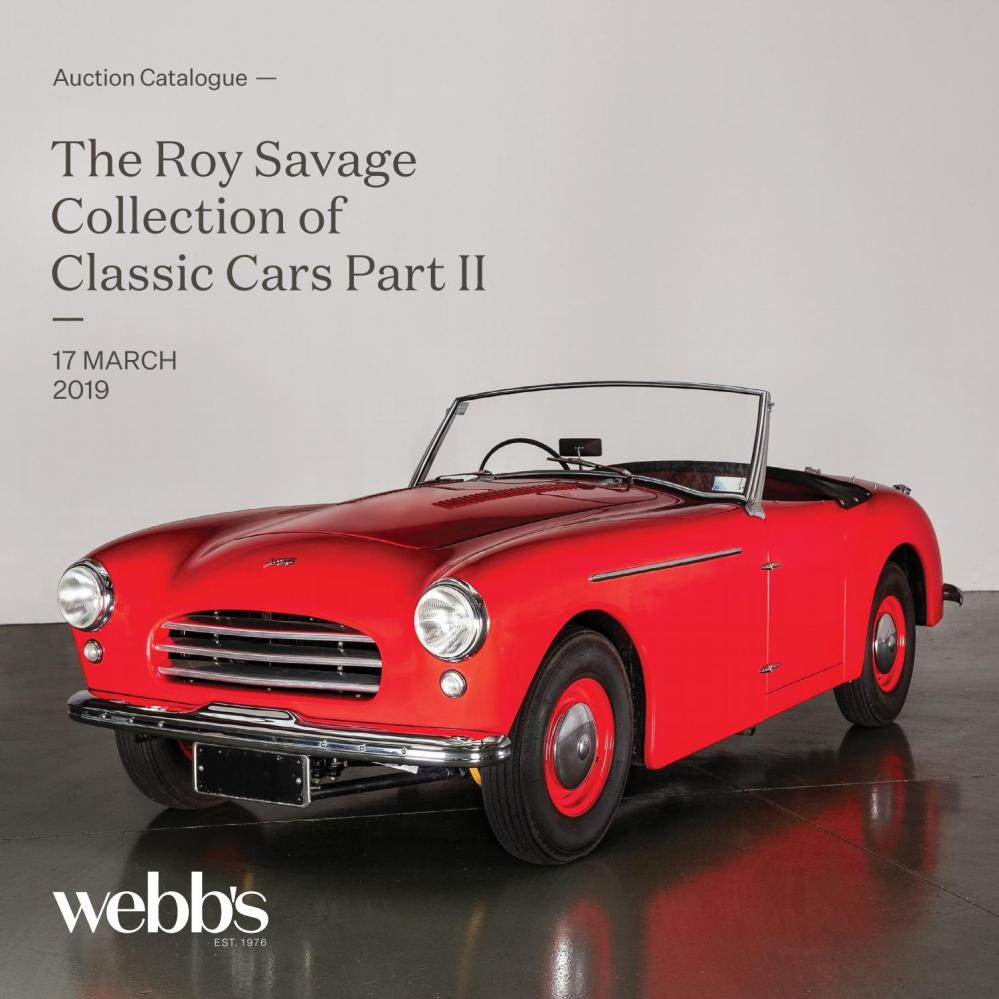 medium resolution of the roy savage collection of classic cars part ii by webb s auction house issuu