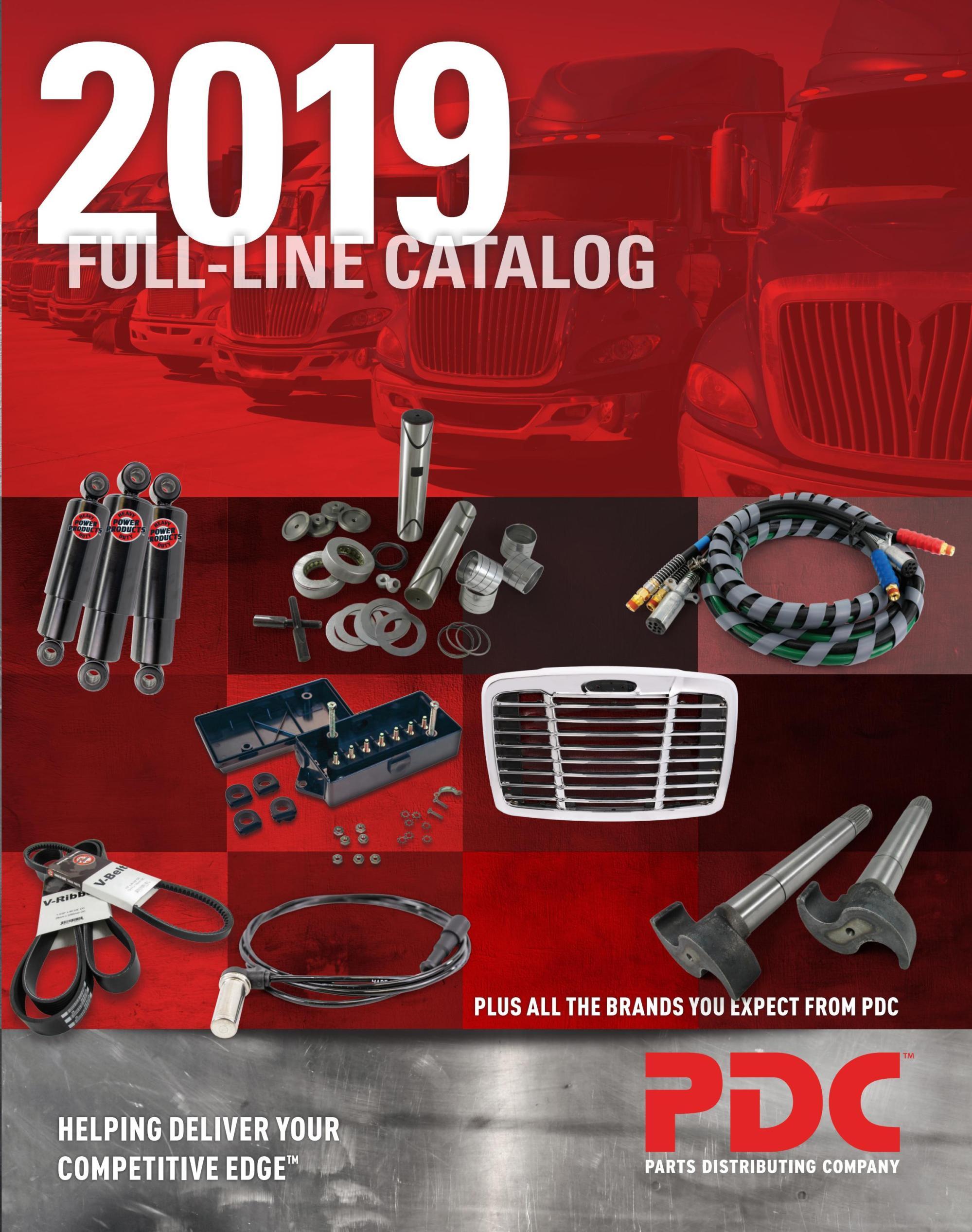 hight resolution of 2019 pdc full line catalog