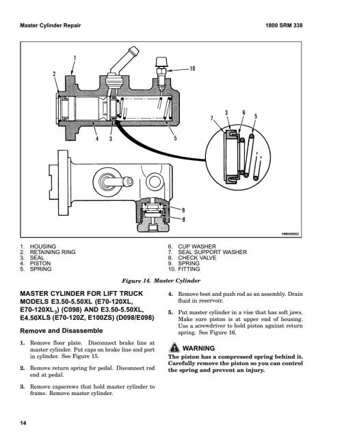 small resolution of hyster c098 e100xl3s forklift service repair manual by 163114103 issuu