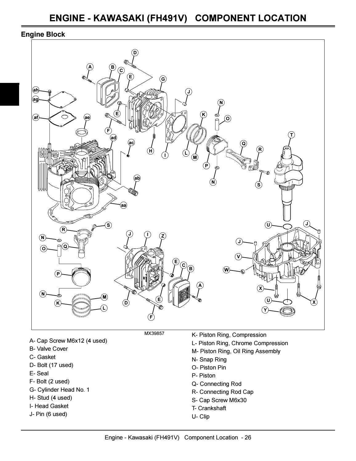 JOHN DEERE X304 LAWN TRACTOR Service Repair Manual by