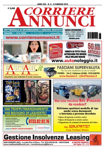 Corriere 6 2019 By Corriere Annunci Issuu