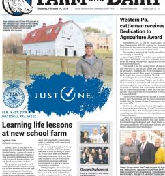 farm and dairy newspaper volume 104 issue 22 date 2 14 2019 [ 949 x 1495 Pixel ]
