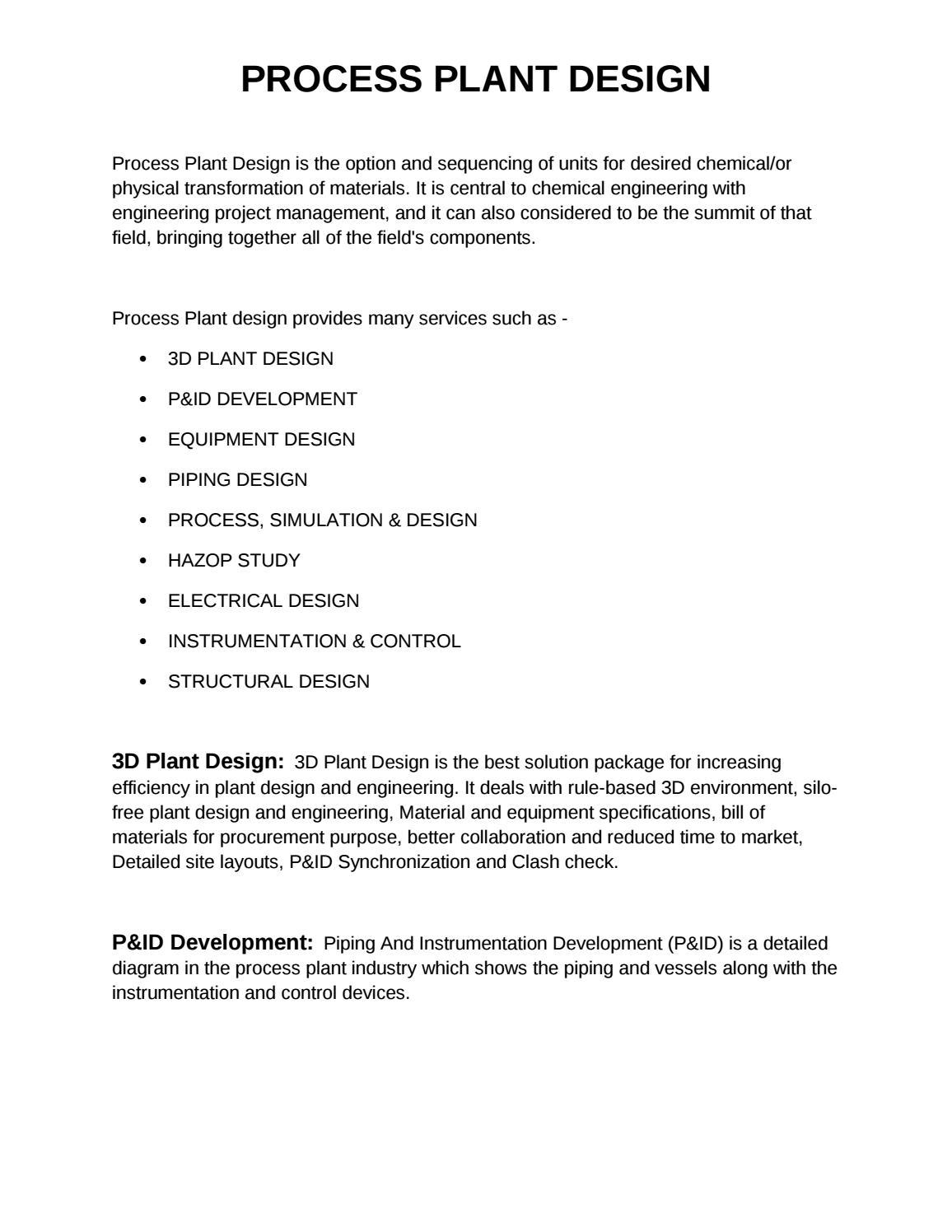 hight resolution of process plant design proplant design in pendik istanbul turkey by processplantdesign issuu
