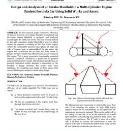 irjet design and analysis of an intake manifold in a multi cylinder engine student formula car usin by irjet journal issuu [ 1156 x 1496 Pixel ]