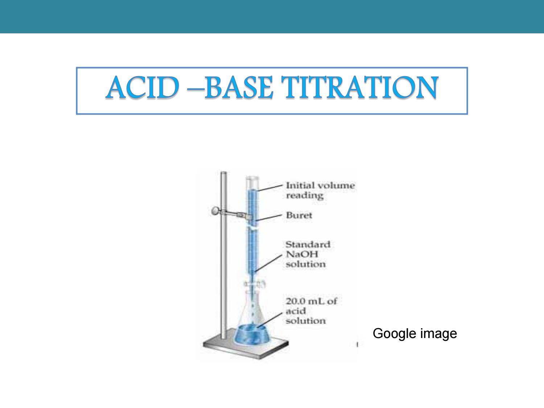 hight resolution of 4 2 acid base titration