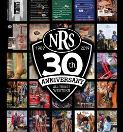 30th anniversary nrs spring and summer western tack catalog by nrsworld issuu [ 1125 x 1500 Pixel ]