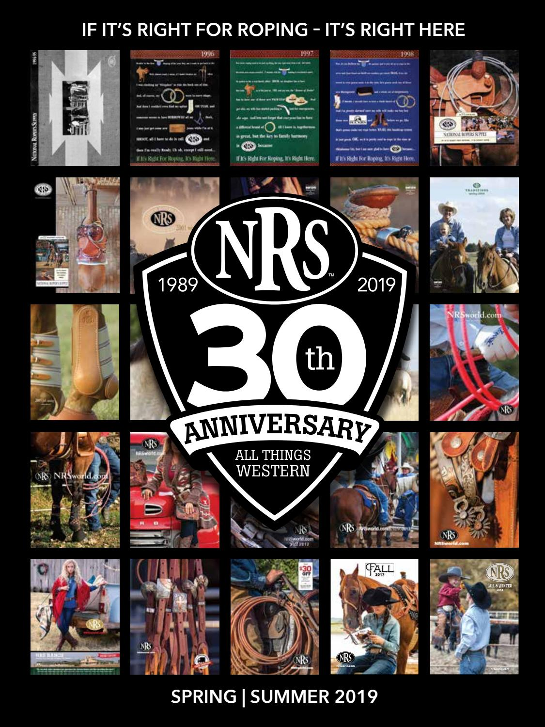 hight resolution of 30th anniversary nrs spring and summer western tack catalog by nrsworld issuu