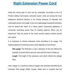 safety guidelines to choose the right extension power cord by sf cable inc issuu [ 1156 x 1496 Pixel ]