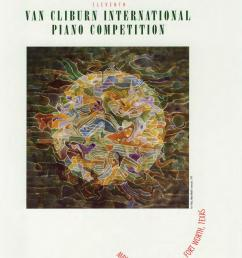 eleventh van cliburn international piano competition program book 2001 by the cliburn issuu [ 1113 x 1500 Pixel ]