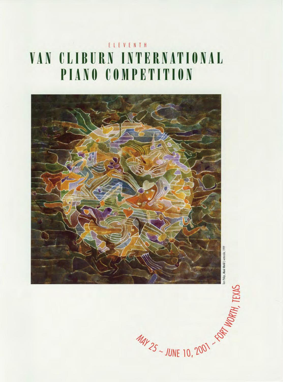 hight resolution of eleventh van cliburn international piano competition program book 2001 by the cliburn issuu