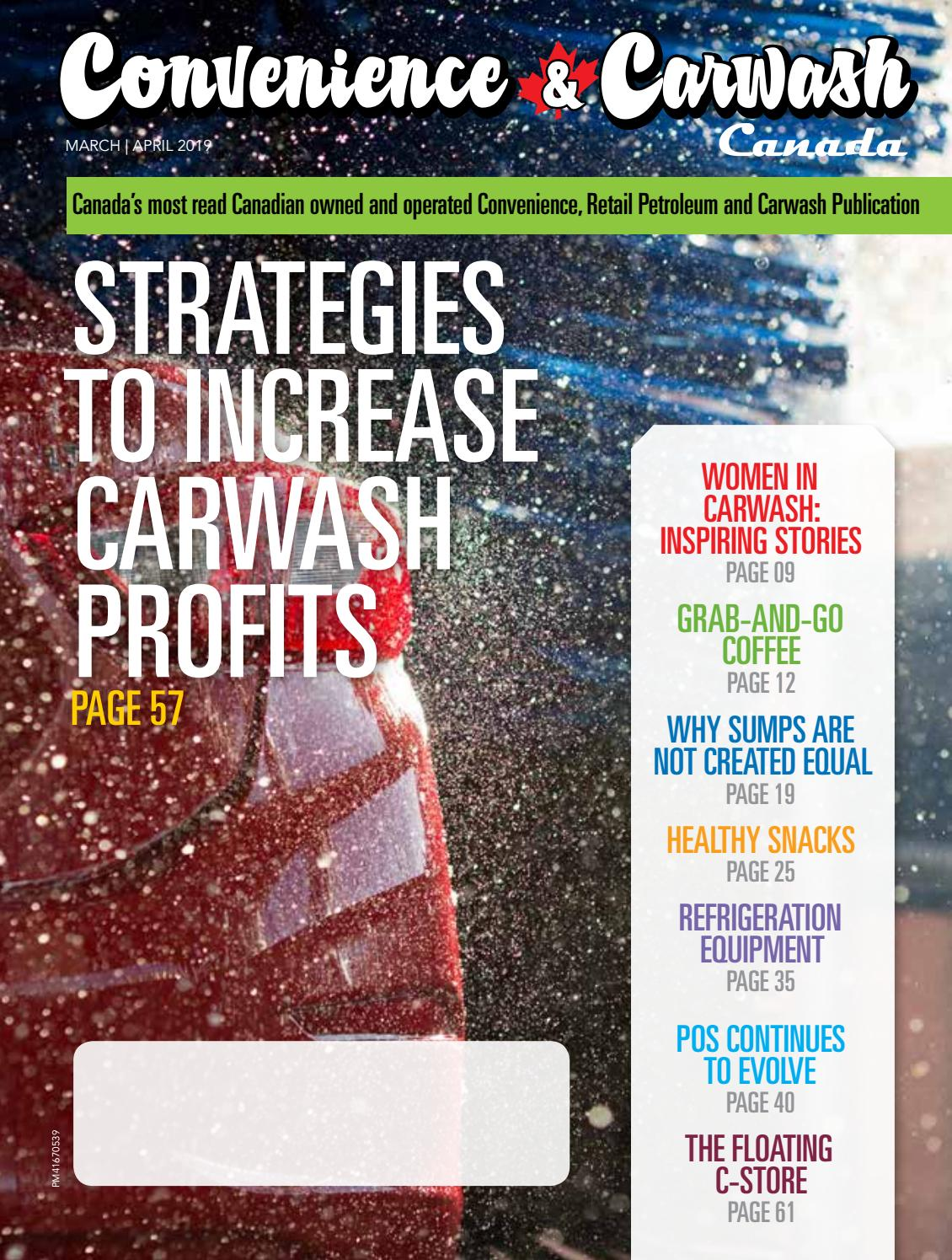 hight resolution of convenience carwash canada march apr 2019