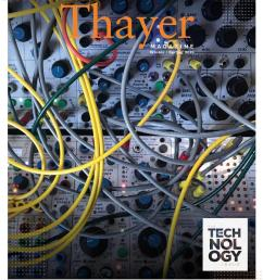 thayer magazine winter spring 2018 19 the technology issue [ 1156 x 1496 Pixel ]