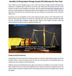 benefits of hiring expert orange county dui attorneys for your case by robert miller associates issuu [ 1156 x 1496 Pixel ]