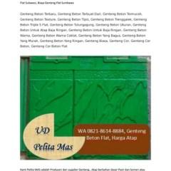 Harga Baja Ringan Madiun Wa Telp 082186148884 Daftar Genteng Beton Polos
