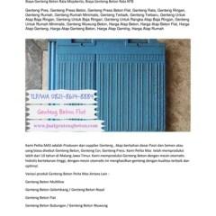 Harga Rangka Baja Ringan Manado Wa Telp 082186148884 Biaya Genteng Press Sulawesi