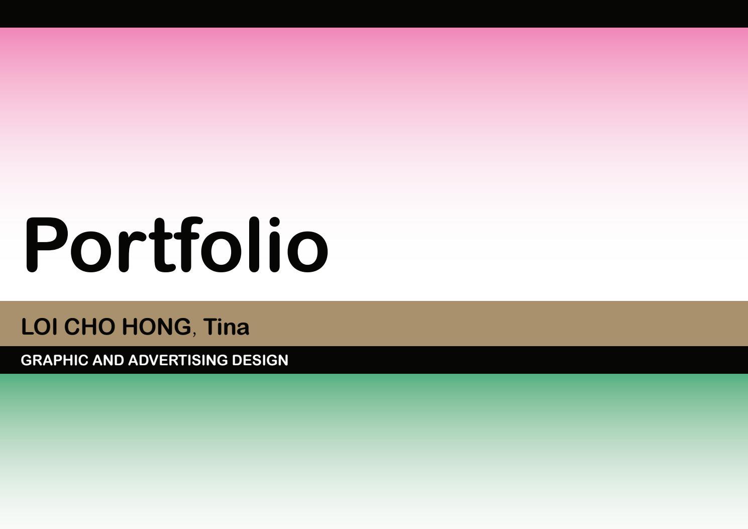 Tina's Protfolio 2019 by Loi Cho Hong - Issuu