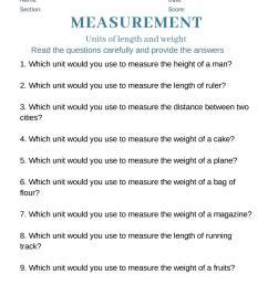 4th grade math worksheet on measurements by nithya - issuu [ 1498 x 1059 Pixel ]