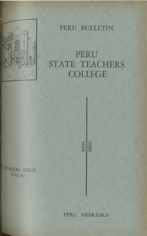 small resolution of 1941 1942 catalog of peru state teachers college nebraska