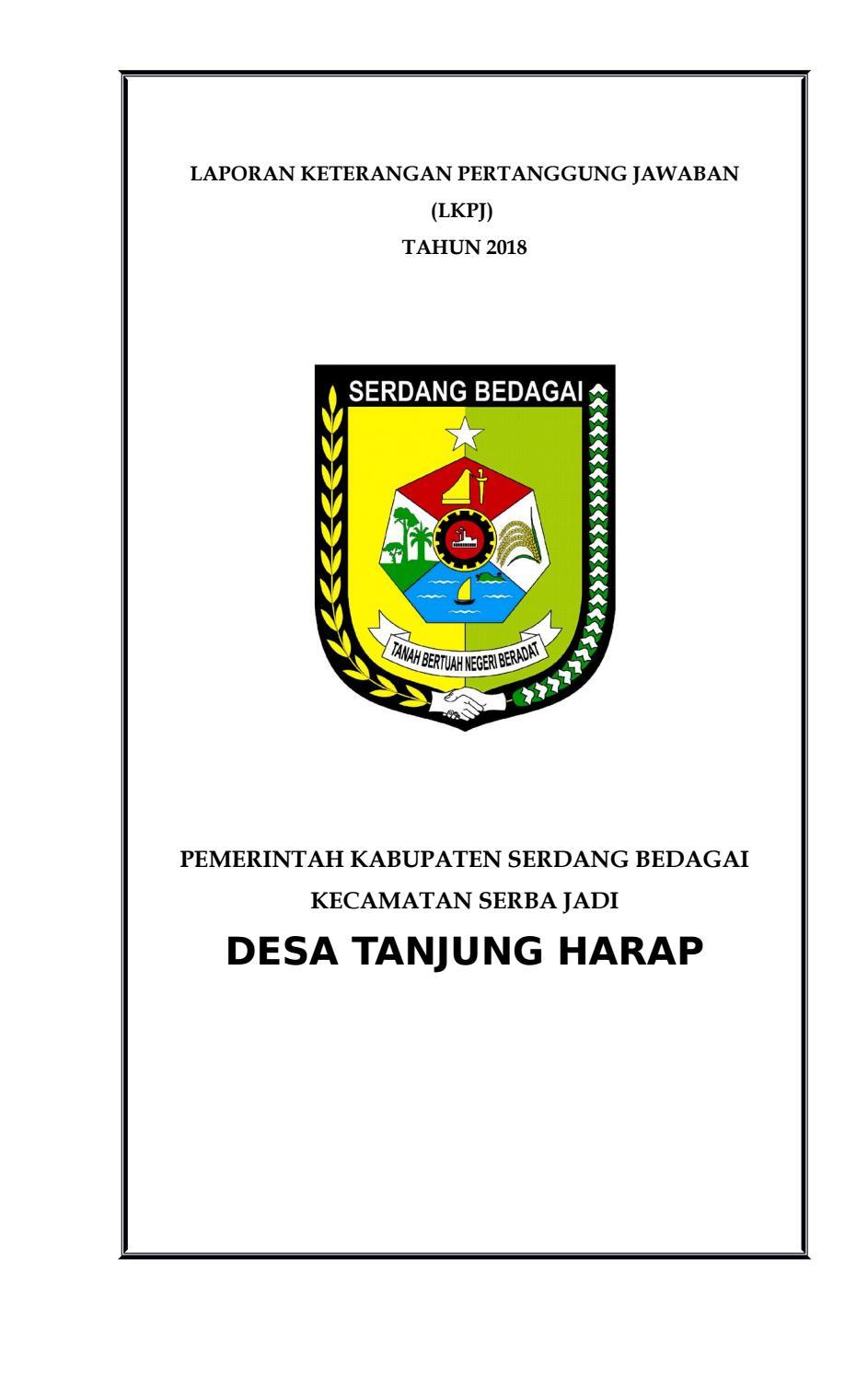 Download Lppd Akhir Masa Jabatan Kepala Desa : download, akhir, jabatan, kepala, Tanjung, Harap, Issuu