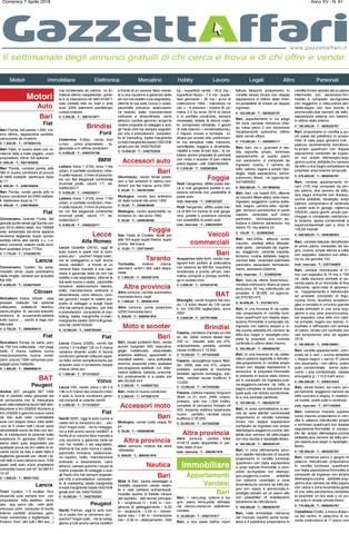 Gazzetta Affari Del 07042019 By La Gazzetta Del