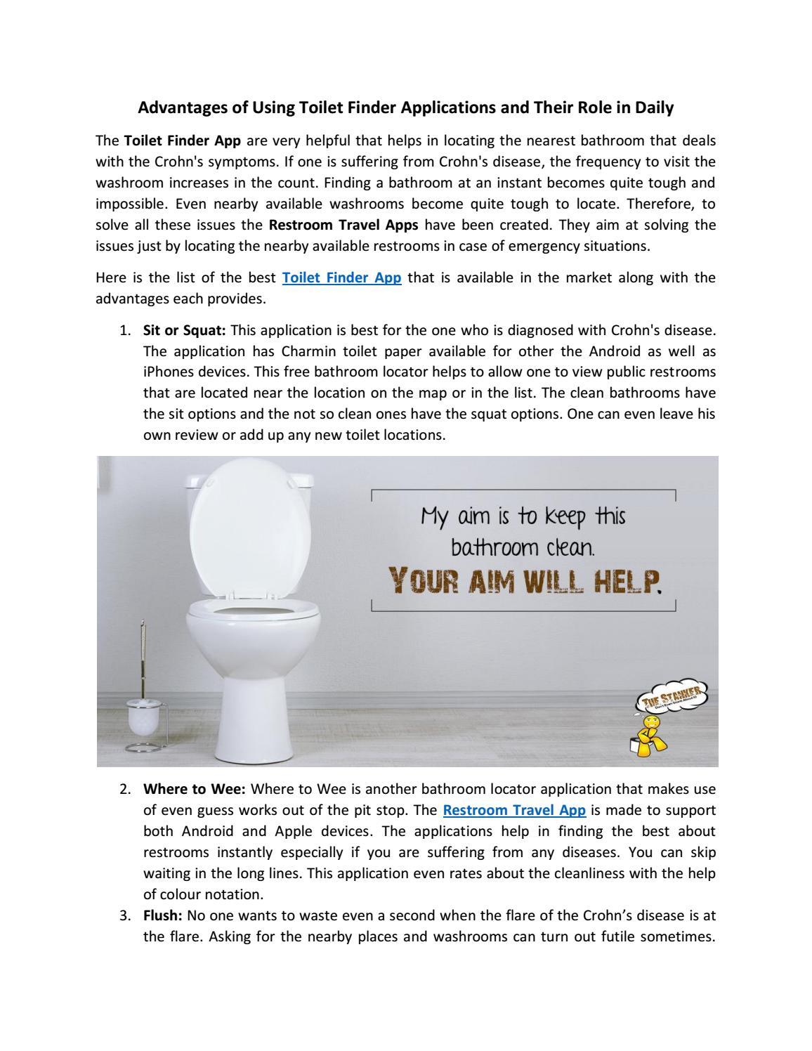 Bathroom Finder App  Wikie Cloud Design Ideas