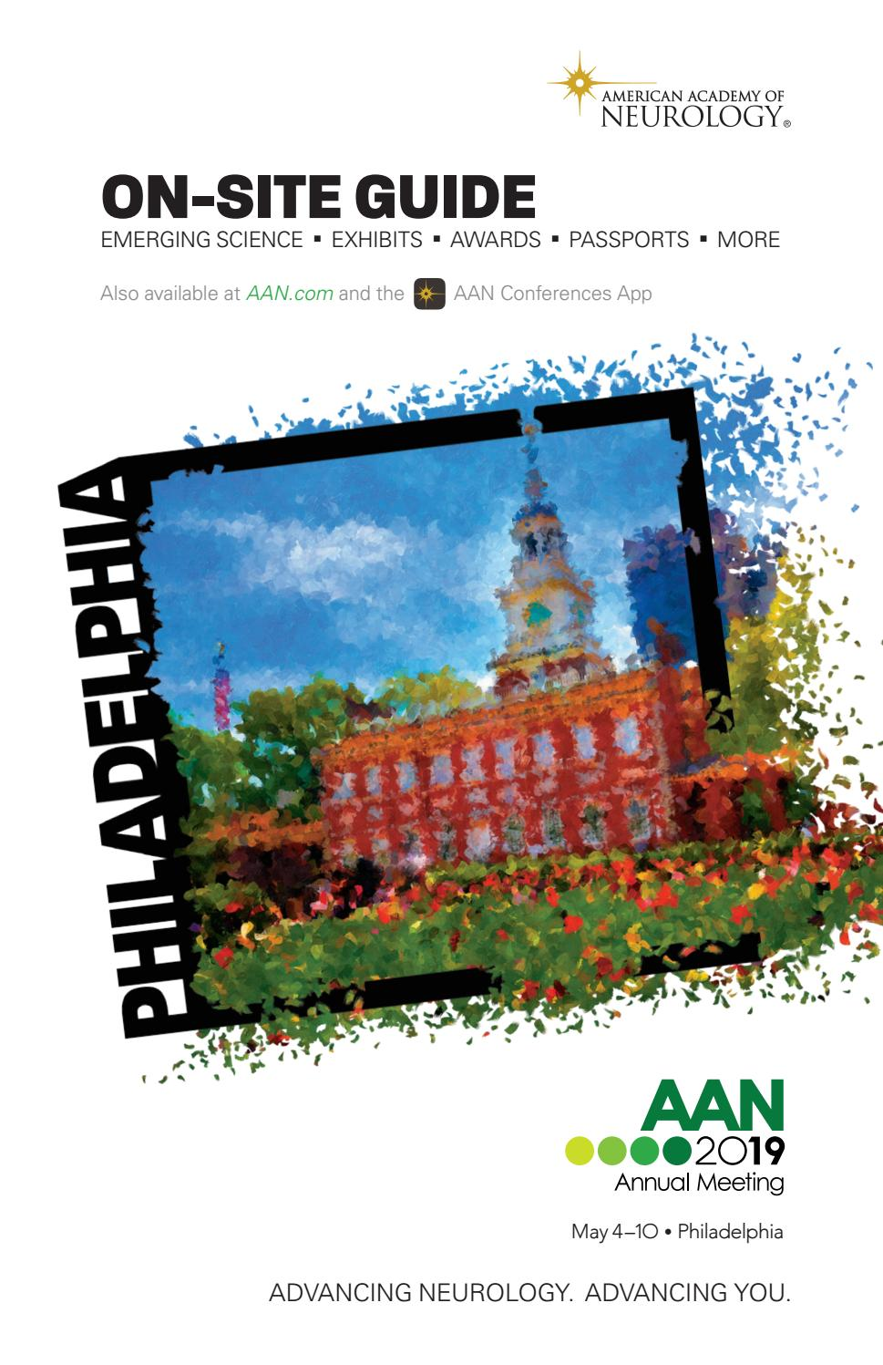 medium resolution of 2019 aan annual meeting on site guide by american academy of neurology issuu