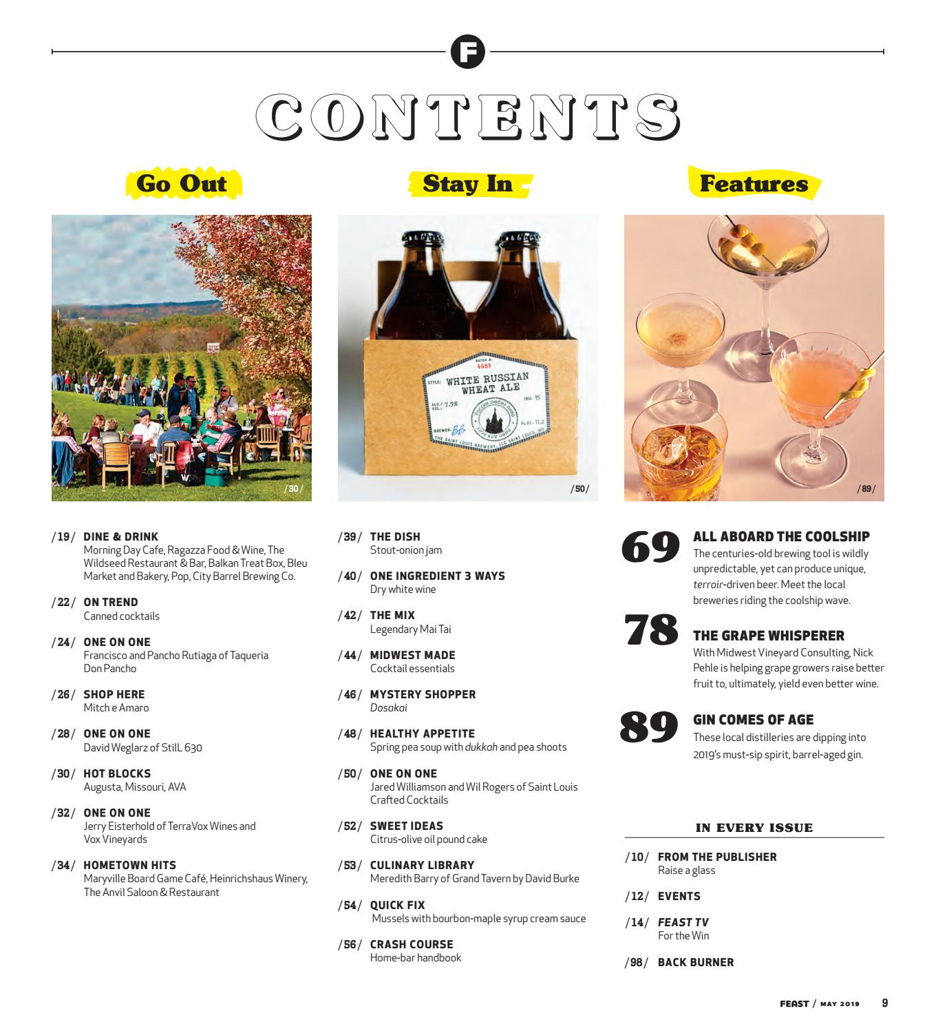 Which wine is best to serve with your dinner tonight? May 2019 Feast Magazine By Feast Magazine Issuu
